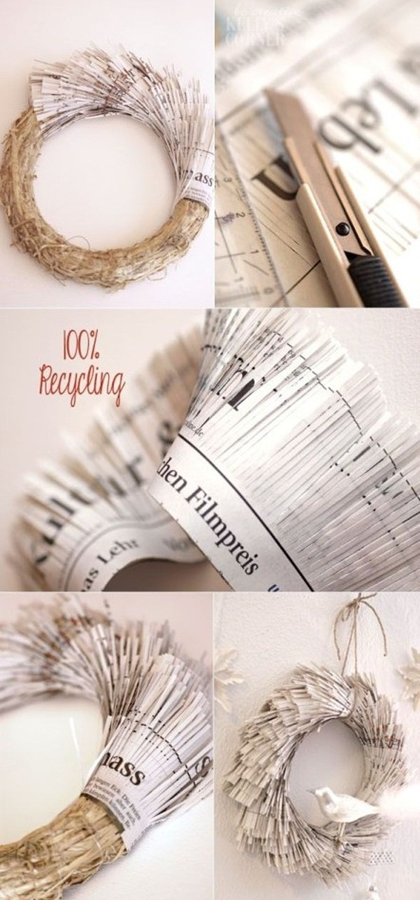 Amazing Crafts Using Newspaper For Kids To Make