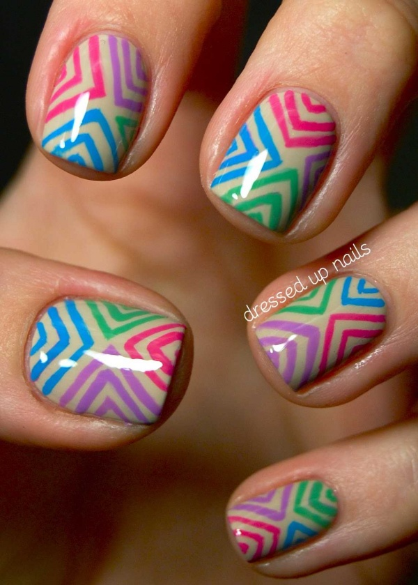 Pretty and Easy Summer Nail Designs