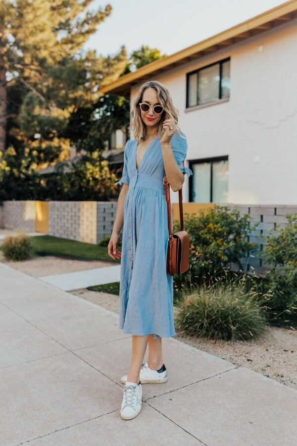 Cute Sneakers To Wear With Dresses